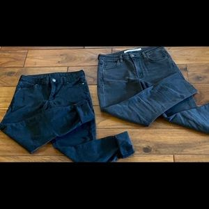 SIZE 25 TOPSHOP /& OTHER THINGS BLACK JEANS